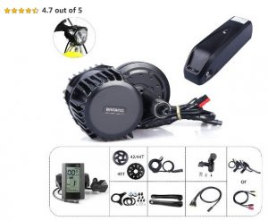 Mid Drive Electric Bike Conversion Kits