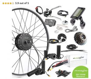 Geared Hub Motor Electric Bike Conversion Kit