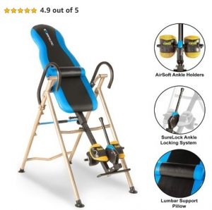 Exerpeutic Inversion Table with AIRSOFT